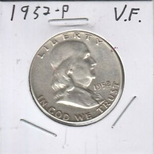 1952 50C FRANKLIN HALF DOLLAR