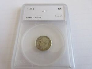 1949 S  ROOSEVELT DIME  CIRCULATED