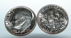 1970  D   BRILLIANT UNCIRCULATED ROOSEVELT DIME ROLL   50 COINS