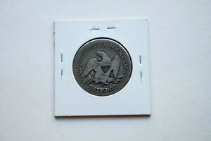 1855 O SEATED LIBERTY SILVER HALF DOLLAR