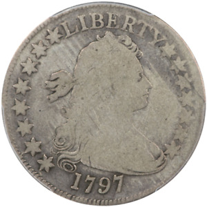 Click now to see the BUY IT NOW Price! 1797 50C DRAPED BUST HALF DOLLAR PCGS G6  CAC
