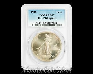 Click now to see the BUY IT NOW Price! 1906 PESO PCGS PR67   US PHILIPPINES / UNITED STATES / USPI   NOW ON SALE