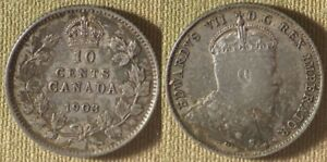 Click now to see the BUY IT NOW Price! CANADA : 1903 10 CT CH.AU  TINY RIM DING   10    IR8516