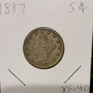 Click now to see the BUY IT NOW Price! 1887 LIBERTY HEAD NICKEL XF