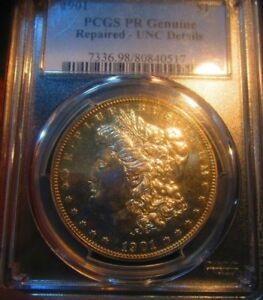Click now to see the BUY IT NOW Price! 1901 MORGAN  DOLLAR   PCGS PR  UNC DETAILS  SUPER  . 1 MOST VALUABLE MORGAN
