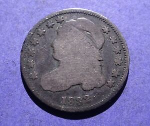 1832 CAPPED BUST HALF DIME GOOD