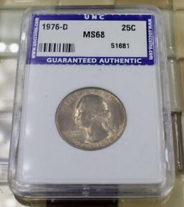 Click now to see the BUY IT NOW Price! 1976 D WASHINGTON QUARTER   UNCIRCULATED HIGHEST GRADE  OFFERS
