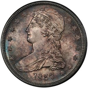 Click now to see the BUY IT NOW Price! 1837 50C REEDED EDGE CAPPED BUST HALF DOLLAR