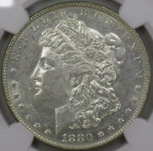 Click now to see the BUY IT NOW Price! 1880 VAM 8 8/7 EARS TOP 100 MORGAN DOLLAR NGC CERTIFIED AU 58 KEY VAM