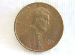 1930 S LINCOLN WHEAT  ONE CENT  US COIN      .6.8/35