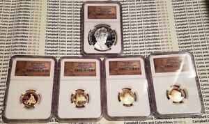 2009 LINCOLN COIN AND CHRONICLES PROOF SET 5 COINS NGC PF69 UCAM