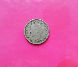 Click now to see the BUY IT NOW Price! 1908 LIBERTY NICKEL FINE  5