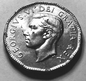 112   6                     CANADA 1951 5 CENTS   ROYAL MINT     UNCIRCULATED