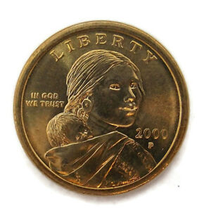 2000 P SACAGAWEA ONE DOLLAR US LIBERTY COIN PHILADELPHIA MINT