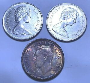 112   4       CANADA    10 CENTS   1974  AND  1976  AND 1 UNKNOWN