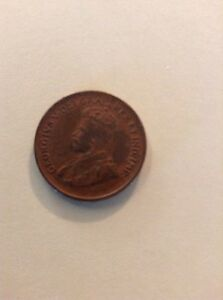 1932 CANADIAN ONE CENT CANADA SMALL PENNY 1C  NICE WORLD COIN