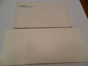 1974 MINT SET ENVELOPE ONLY  NO COINS