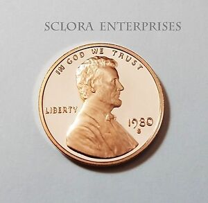 1980 S LINCOLN MEMORIAL  PROOF  CENT / PENNY