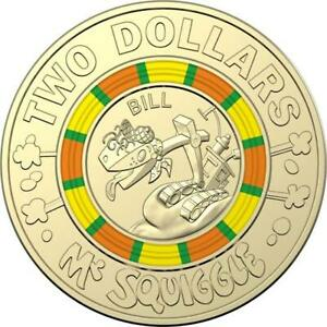 $2 COIN MR SQUIGGLE