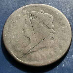 1810 LARGE CENT CLASSIC HEAD ONE CENT 1C CIRCULATED 9921