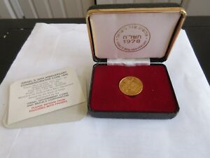 Click now to see the BUY IT NOW Price! 1978  ISRAEL 30TH ANNIVERSARY  PROOF  12G  GOLD 900  NGC  PF 67  ULTRA CAMEO