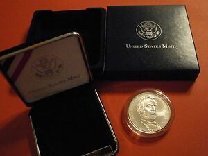 2009 UNITED STATES LINCOLN BICENTENNIAL .900 SILVER DOLLAR