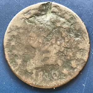 1810 LARGE CENT CLASSIC HEAD ONE CENT 1C CIRCULATED 8746