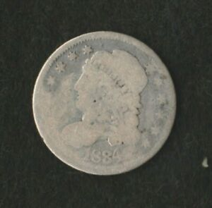 1834 P CAPPED BUST HALF DIME      MAKE US AN OFFER