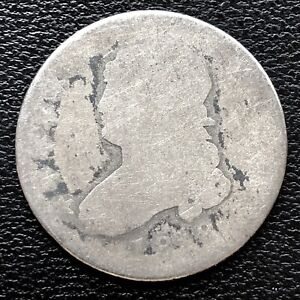 1818 CAPPED BUST QUARTER DOLLAR 25C  CIRCULATED 15306