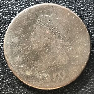 1810 LARGE CENT CLASSIC HEAD ONE CENT 1C 6955
