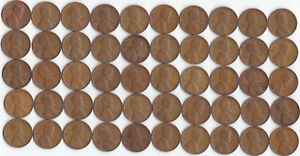 1942 LINCOLN WHEAT CENT ROLL CIRCULATED