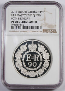 Click now to see the BUY IT NOW Price! BRITAIN 2016 5 3 OZ PLATINUM PROOF PIEDFORT COIN NGC PF70 QUEEN'S 90TH BIRTHDAY