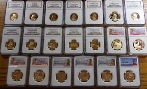 Click now to see the BUY IT NOW Price! 2000 2018 S SACAGAWEA DOLLAR  COMPLETE 20 COIN PROOF SET NGC PF70 UC REV   5