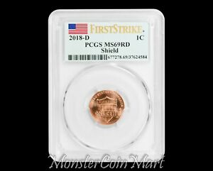 Click now to see the BUY IT NOW Price! 2018 D SHIELD LINCOLN CENT PCGS MS69RD FIRST STRIKE    AMAZING GRADE  WOW