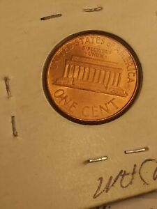2000 P WIDE AM LINCOLN MEMORIAL CENT PENNY WAM VARIETY ERROR COIN