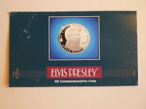 1993 MARSHALL ISLANDS ELVIS PRESLEY UNCIRCULATED $5 COMMEMORATIVE COIN