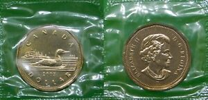2003 CANADA  W MARK  NEW EFFIGY LOONIE SEALED IN CELLOPHANE