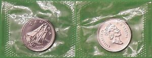 2000 CANADA DIME SEALED IN CELLOPHANE