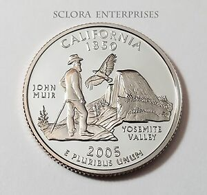 2005 S CALIFORNIA  PROOF  STATE QUARTER