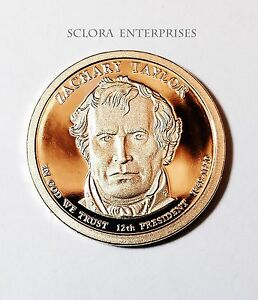 2009 S ZACHARY TAYLOR PRESIDENTIAL DOLLAR PROOF COIN