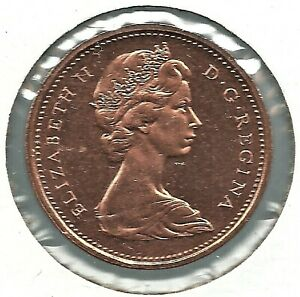 1968 1 CENT CAMEO. UNCIRCULATED. NICE CAMEO BOTH SIDES.