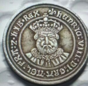 HENRY VIII 3RD COINAGE 1544 47 TESTOON IN GVF