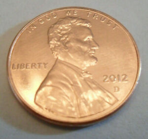 2012 D LINCOLN SHIELD CENT / PENNY