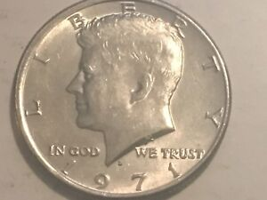 71 73 74 KENNEDY HALF DOLLAR DENVER REVERSE DOUBLING ERROR COIN LOT
