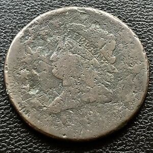 1808 LARGE CENT CLASSIC HEAD ONE CENT 1C  CIRCULATED 20711