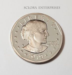 1979 S SUSAN B. ANTHONY  SBA   PROOF  DOLLAR COIN   TYPE 1