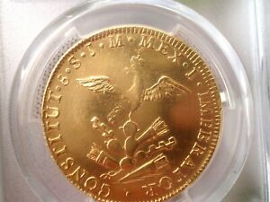 Click now to see the BUY IT NOW Price! 1822 MEXICO 8 ESCUDOS DOLLARS PESOS REALES 8E GOLD COIN