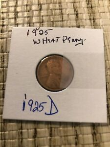 1925 D WB PENNY A  FIND IN GOOD CONDITION