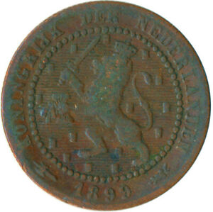 COIN / THE NETHERLANDS / 1 CENT 1899  WT5782
