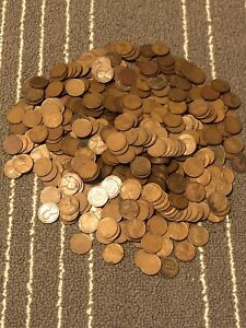 500 1930 1939 WHEAT PENNIES   ONLY THIRTIES   1930 WHEAT CENTS   P   D   S MINTS